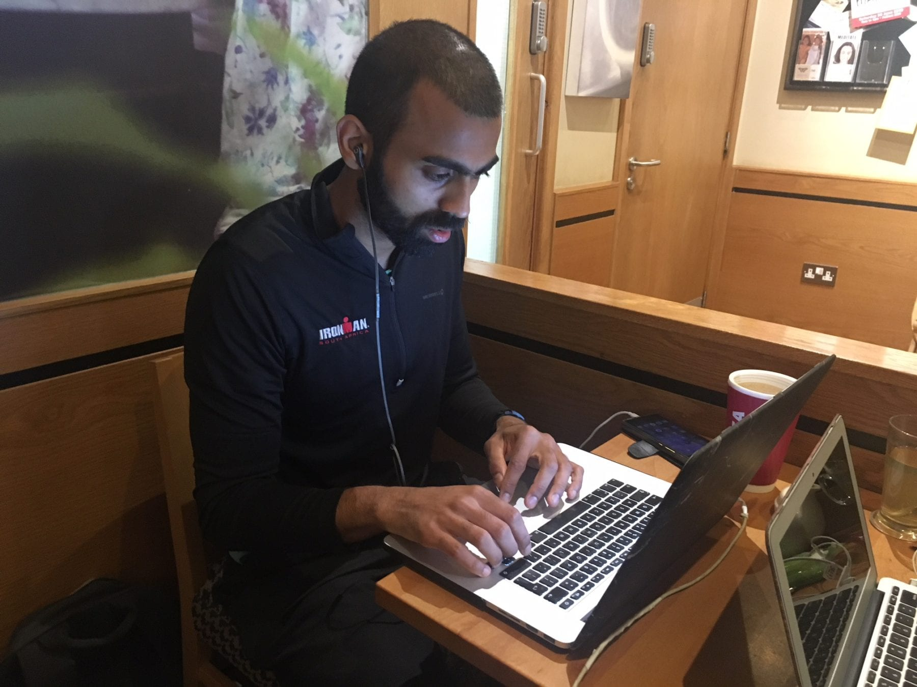 Deepak Shukla working in Costa coffee Cafe
