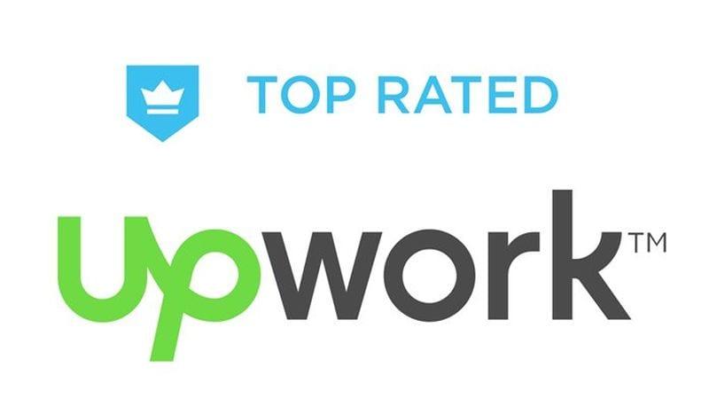 UPwork badge SEO consulting